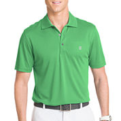 IZOD® Short-Sleeve Golf Grid Polo Shirt