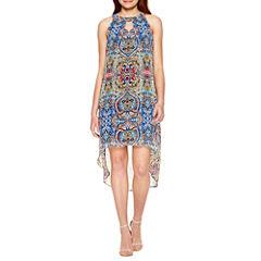 Alyx Sleeveless Hi Low Dress