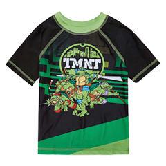 Boys TMNT Rash Guard-Toddler