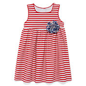 Marmellata Sleeveless Striped Sundress - Baby Girls 3m-24m