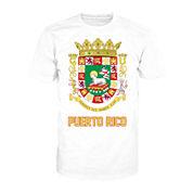 Puerto Rico Crest Short-Sleeve Cotton Tee