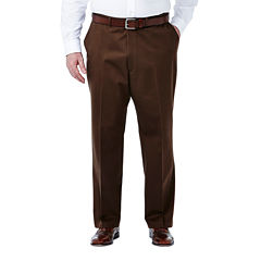 Haggar® Work to Weekend® Flat-Front Pants–Big & Tall
