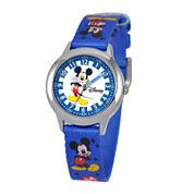 Disney Time Teacher Mickey Mouse Kids Blue Watch