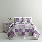 Home Expressions™ Leana Patchwork Quilt & Accessories