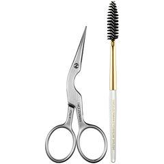 Tweezerman Brow Shaping Scissors & Brush