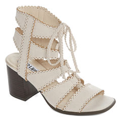 2 Lips Too Danica Womens Heeled Sandals