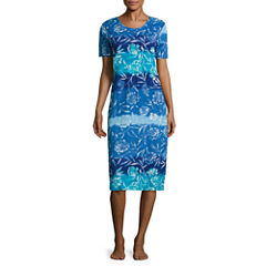 Knit Pattern Nightgown