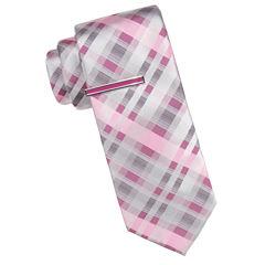 J.Ferrar Plaid Tie