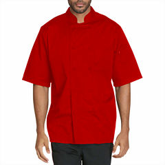 Dickies Unisex Short Sleeve Chef Coat