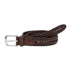 Dockers® Leather Braided Belt–Big & Tall