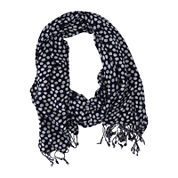 Keds® Woven Stripe Infinity Scarf with Fringe