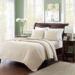 Madison Park Reed Coverlet Set