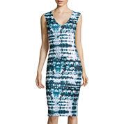 BELLE + SKY™ V-Neck Ponte Dress