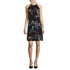 Worthington Sleeveless Trapeze Dress