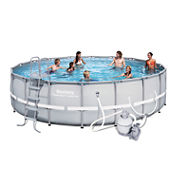 Bestway Power Steel Frame Pool Set 18 Feet x 52 Inches