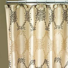 Popular Bath Confetti Shower Curtain
