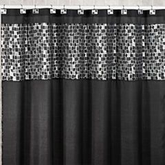 Popular Bath Mosaic Stone Shower Curtain