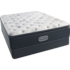 Simmons Beautyrest Silver® Snowhaven Pillowtop Luxury Firm -  Mattress + Box Springs