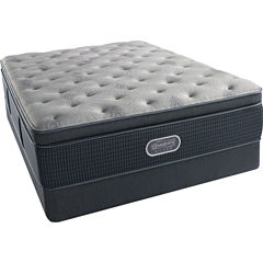 Simmons Beautyrest Silver® Emory Hope Pillowtop Plush - Mattress + Box Springs