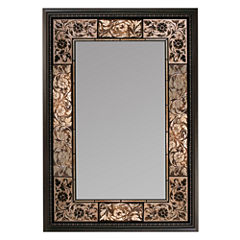 French Tile Wall Mirror