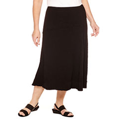 Alfred Dunner A-Line Skirt-Plus
