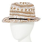 Olsenboye® Woven Fedora Hat