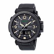Casio Pro-Trek Mens Black Strap Watch-Prg-600y-1