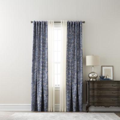 royal velvet florence u0026 jcpenney home batiste sheer curtain panels