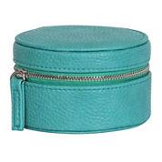 Mele & Co. Joy Turquoise Faux-Leather Jewelry Travel Case