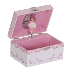 Mele & Co. Clarice Girl's Musical Ballerina Jewelry Box