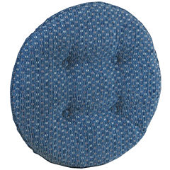 Klear Vu Gripper® Raindrops 2-Pack Delightfil® Bar Stool Cushions