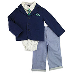 Nanette Baby 4-pc. Suit Set Baby Boys