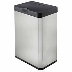 Premium Motion Activated Swiveling Adaptive Sensor Trash Can with Wall Adapter, 13.2 Gal