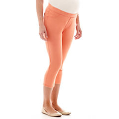Maternity Jegging Capris - Plus