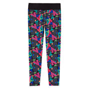 Xersion™ Printed Skinny Yoga Pants - Girls 7-16 And Plus