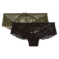 Wallflower 2-pc. Lace Cheeky Panty