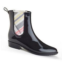 Henry Ferrera Clarity 800 Short Plaid Rain Boots
