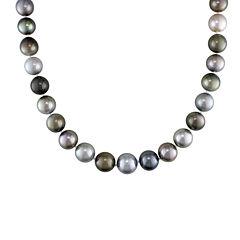 10-13mm Genuine Multicolor Tahitian Pearl 18