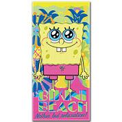 SpongeBob Colada Cotton Beach Towel