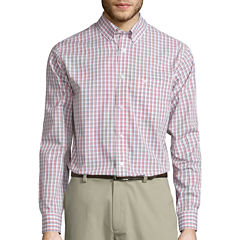 Dockers® Signature Long-Sleeve Windowpane Woven Shirt