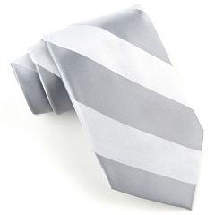 Stafford® Bond Tonal Silk Tie