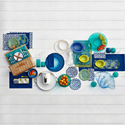 Outdoor Oasis™ Submerge Melamine Dinnerware Collection