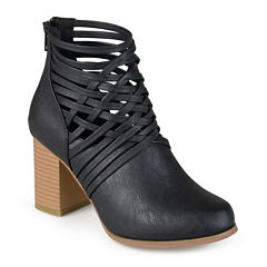 Journee Collection Alicia Open Strap Ankle Booties