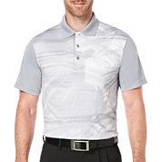 PGA TOUR® Short-Sleeve Nature-Printed Polo