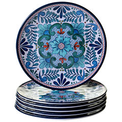 Certified International Talavera 6-pc. Salad Plate