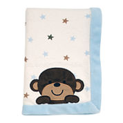 Carter's® Monkey Collection Baby Blanket