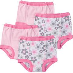 Gerber 4 Pair Potty Training Pants Girls