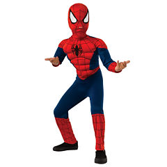Ultimate Spider-Man Muscle Chest Kids Costume - Small (4-6)