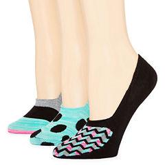 Mixit 3-pc. Knit Liner Socks