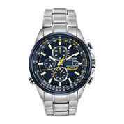 Citizen® Eco-Drive® Mens Blue Angels World Chronograph A-T Watch AT8020-54L